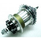 SRAM Dual Drive 3 x 8 speed Hub 36H/135mm Disk Brake w/Freewheel